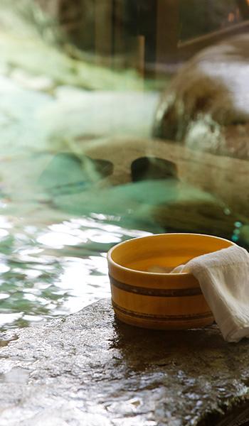 秘湯の宿、島根県雲南市海潮荘の温泉