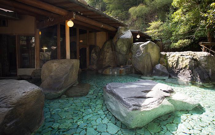 秘湯の宿 海潮荘の温泉